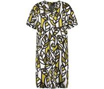 Kleid mit frischem Blätterdruck