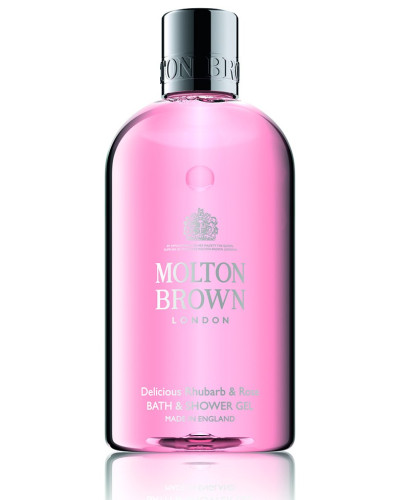Delicious Rhubarb & Rose Bath & Shower Gel - 300 ml