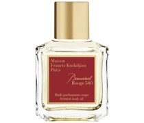 Baccarat Rouge 540 Scented body oil