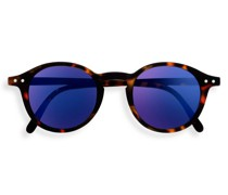 Junior SUN #D Tortoise Blue Mirror Lenses +0.00