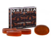 Ambra Nera Glyzerin Seife - 4x40 g | ohne farbe