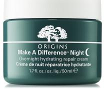 Make A Difference™ Night Cream Overnight Hydrating Repair Cream - 50 ml | ohne farbe