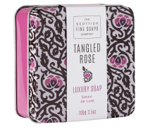 Tangled Rose Soap In A Tin - 100 g | ohne farbe