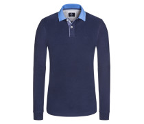 Rugby, Slim Fit in Blau für Herren