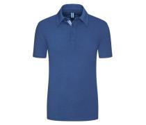 Indigo-Poloshirt in Marine für Herren
