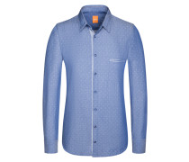 Freizeithemd, Cieloebu in Blau für Herren