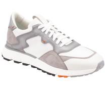 Sneaker mit Leder-Patches