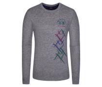 Pullover, Regular Fit in Grau für Herren
