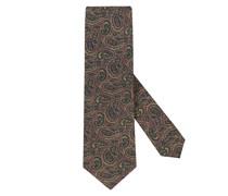 Krawatte aus Seide Bordeaux