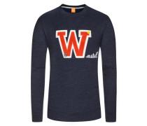 Sweatshirt, Wariety, Regular Fit in Blau für Herren
