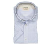 Hemd mit Muster, Kurzarm