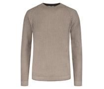 Pullover Merino-Schurwolle Kitt