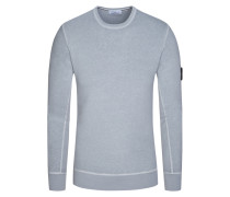 Sweatshirt, Slim Fit in Grau für Herren