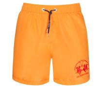 Badehose in Orange für Herren