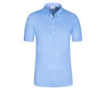 Poloshirt, Poy, Regular Fit in Blau für Herren