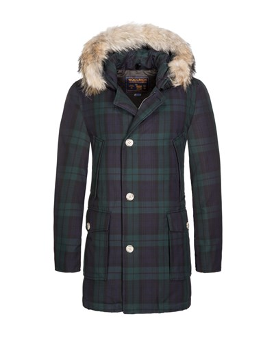 woolrich herren daunenjacke arctic parka blau von. Black Bedroom Furniture Sets. Home Design Ideas