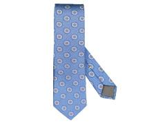 Hochwertige Krawatte aus reiner Seide in Blau