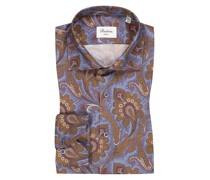 Hemd mit Paisley-MusterSlimline