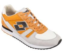 Sportlicher Sneaker, Tokyo Shibuya in Orange für Herren