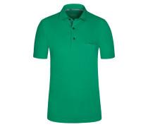 Poloshirt, Regular Fit in Gruen für Herren