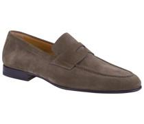 Klassische Loafer Wildleder