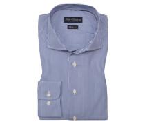 Oberhemd, Regular Fit in Blau für Herren