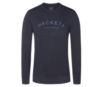 Sweatshirt, O-Neck in Blau für Herren
