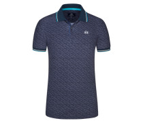Poloshirt in Blau für Herren