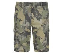 Bermuda im Camouflage-MusterChile 1Slim Fit Oliv