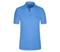 Poloshirt, Regular Fit in Blau für Herren