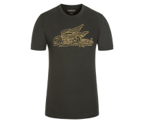 T-Shirt in Grau für Herren