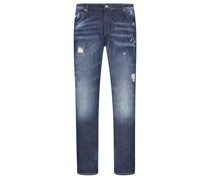 Jeans mit Destroyed-Effekt, Neckarau, Twisted