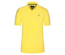 Poloshirt, Slim Fit in Gelb für Herren