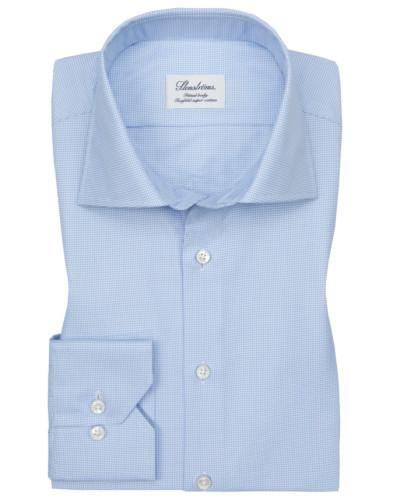Oberhemd, Fitted Body in Blau für Herren