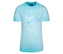 T-Shirt in Blau für Herren