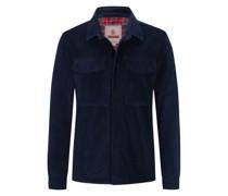 Cord-Overshirt mit Coolmax® - Futter Marine