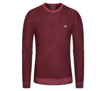 Pullover, Regular Fit in Rot für Herren