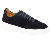 Sneaker aus Velours-Leder