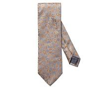 Krawatte mit Paisley-Muster Hell