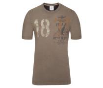 T-Shirt, Regular Fit in Gruen für Herren