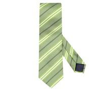 Krawatte im Seidenmix Gruen