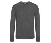 Pullover mit Ellenbogen-Patches Anthrazit