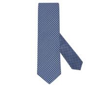 Krawatte im Kleinmuster Hell