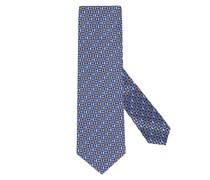Krawatte im Minimalmuster Hell