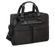 Tasche, Shyrt Nylon Brief Bag in Schwarz für Herren