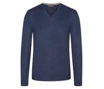 Pullover Merino-Qualitätmit Ellenbogenpatches