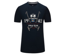 T-Shirt, Regular Fit in Blau für Herren