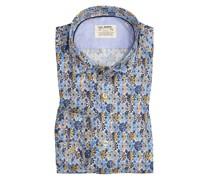 Freizeithemd im MusterprintShaped Fit