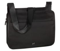 Tasche, Shyrt Nylon Shoulder Bag in Schwarz für Herren
