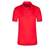 Poloshirt, Pio, Regular Fit in Rot für Herren